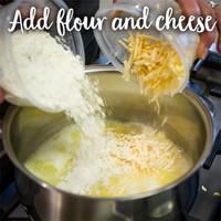 Cheese puffs 1