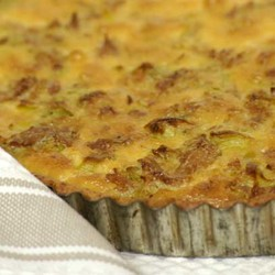 Leek and tuna quiche 8
