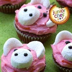 Pink cupcake piggies   main pic
