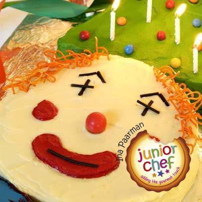Ina Paarman Clown Birthday Cake