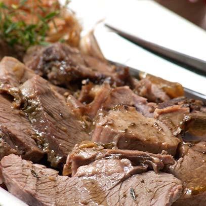 Slow roast leg of lamb 3