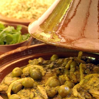 Ina Paarman | Chicken Tajine with Green Olives and ...