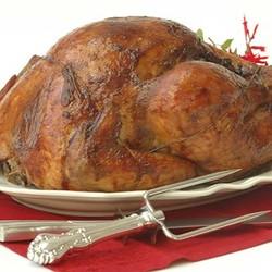 Slow roast turkey with chorizo 4