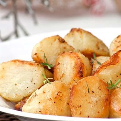 how to cook frozen roast potatoes