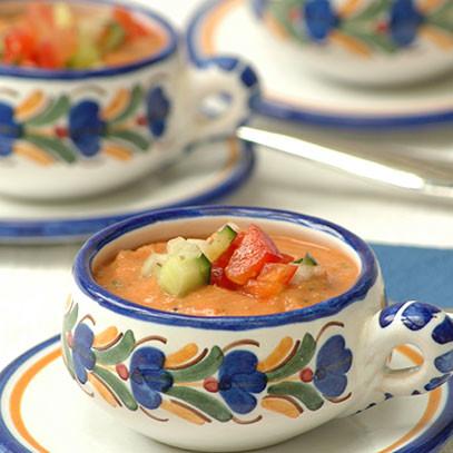 Creamy gazpacho