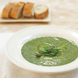 Spinach with rosemary
