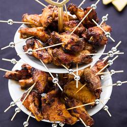 Peri peri chicken winglets