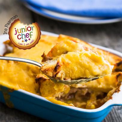 Cheese and tuna bake