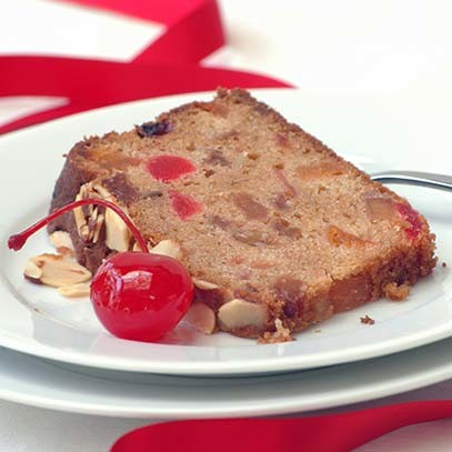 Light Festive Fruit Cake Uk
