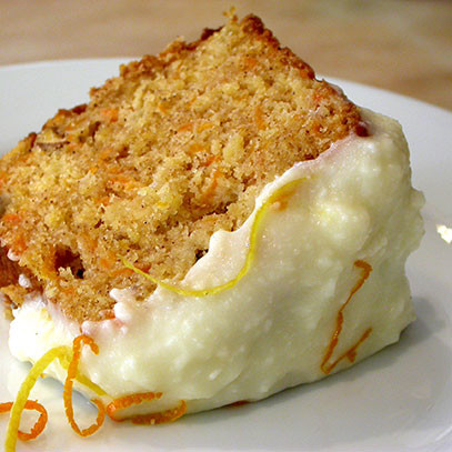 Carrot Cake With Pulp